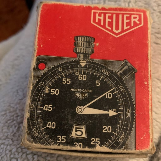 Tag Heuer stopwatch ltr