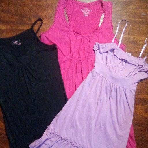 Lot of three women's dresses