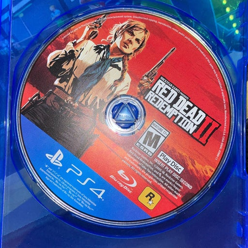 Red Dead Redemption 2 Play Disc 2 ONLY on PS4