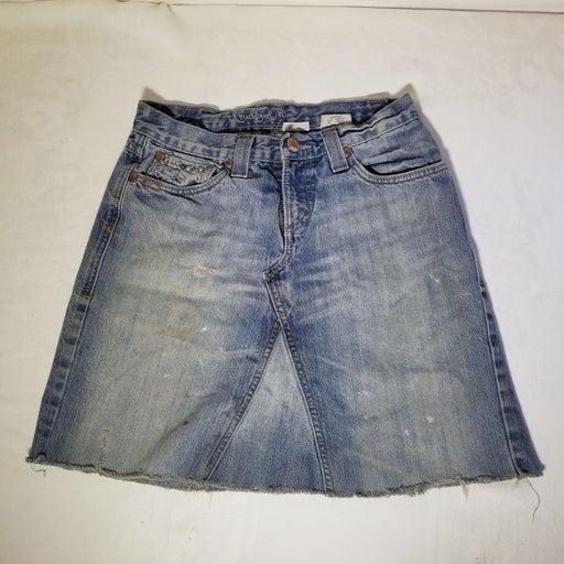 Cruel Girl Size 3 Denim Mini Skirt