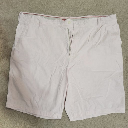 IZOD Men's Seersucker Shorts - Fairy Tale Pink 42
