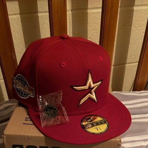 Hat club astros brick red