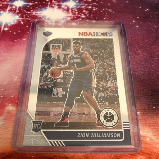Zion Williamson NBA Hoops Rookie Card