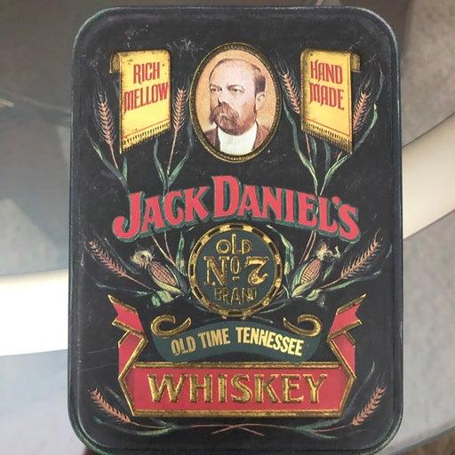 Jack daniel's whiskey Vintage tin
