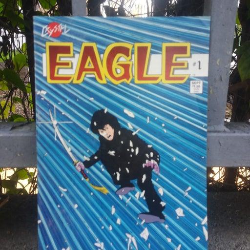 """Vintage Comic- """"Eagle"""" #1."""