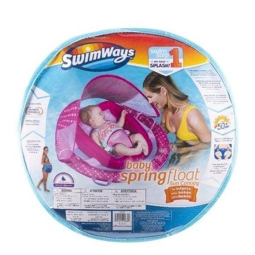 SWIMWAYS INFANT SPRING FLOAT SUN CANOPY
