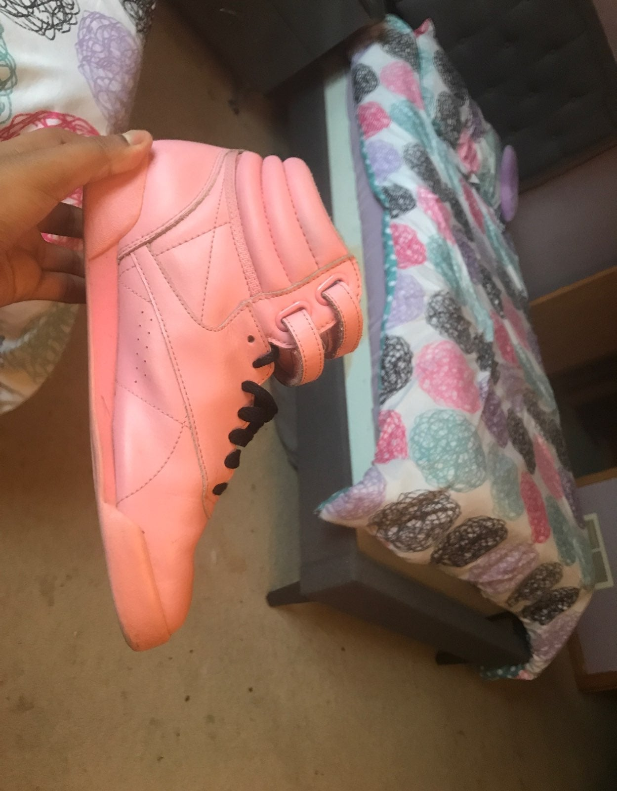Rebook Classic Pink Shoes Size 5