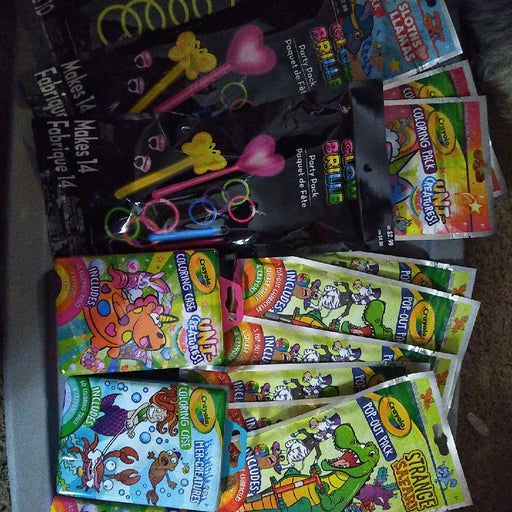 Lot of  48 Birthday party stuffers
