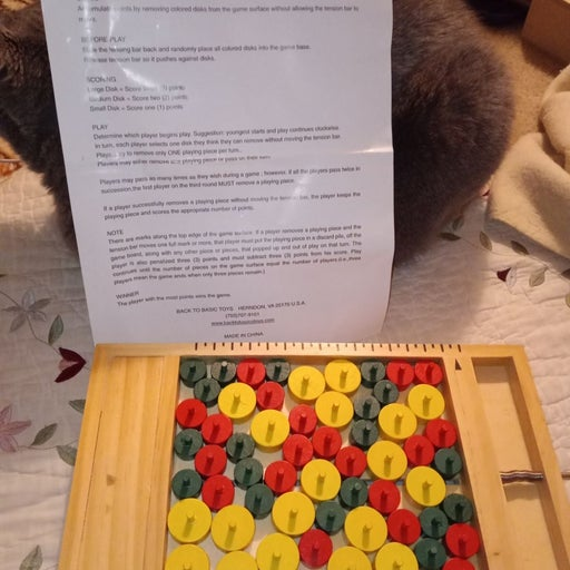 Squeeze it handmade wood game
