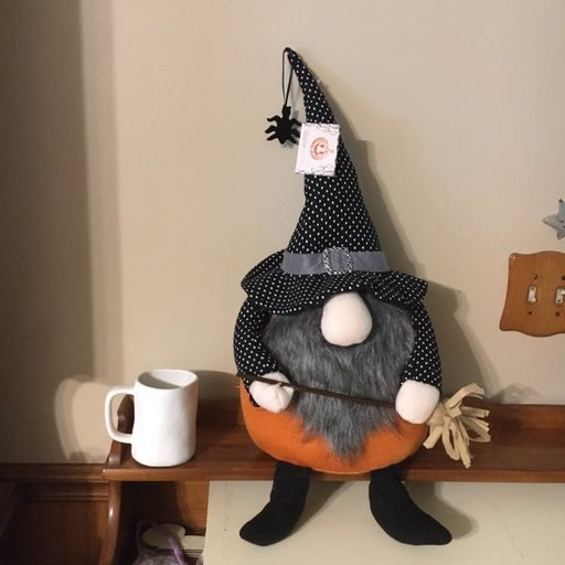 Halloween cloth gnome witch xlarge