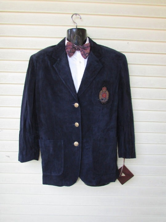 Vintage Georges Marciano Leather Blazer