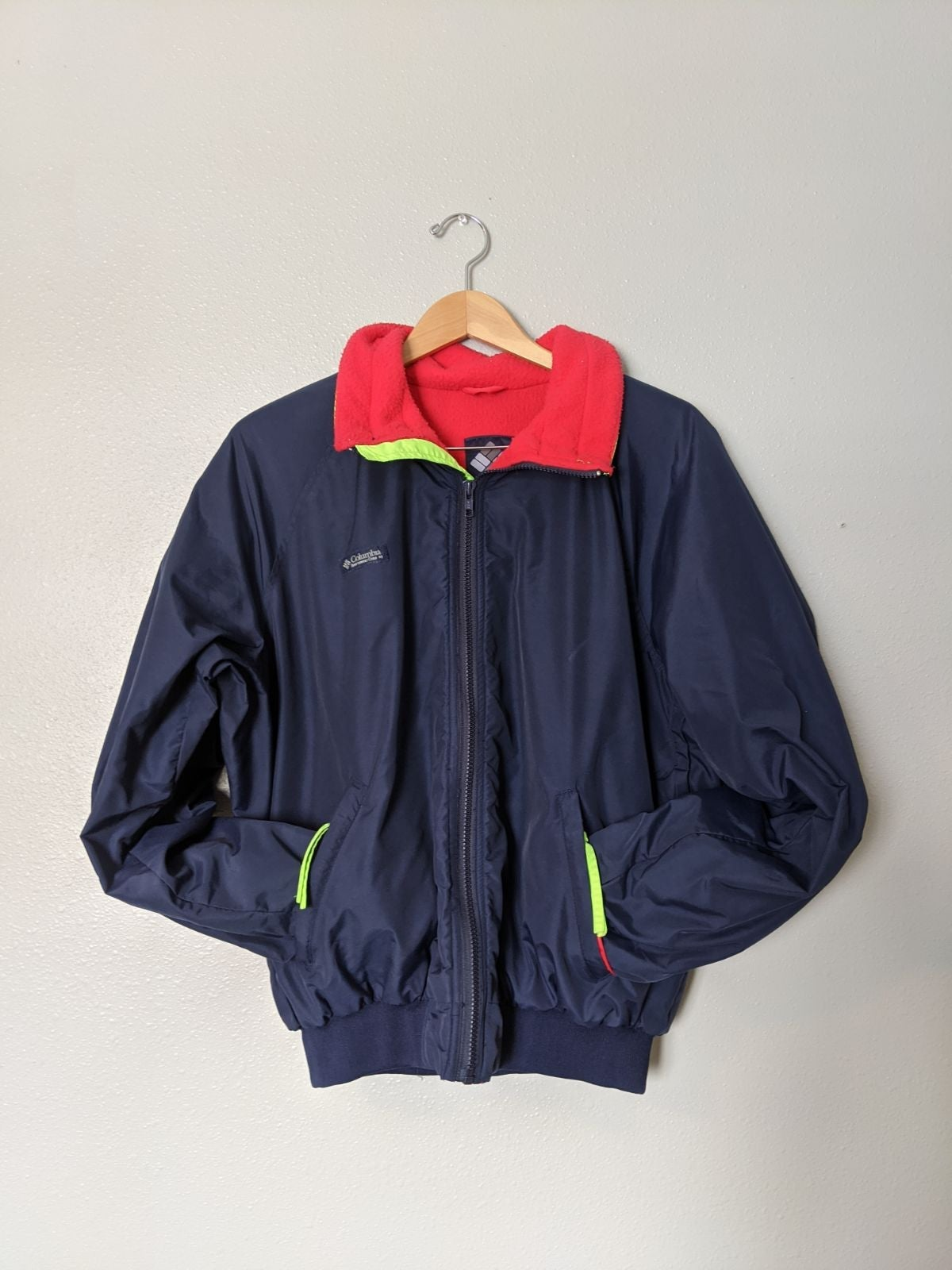Columbia vintage Bomber Jacket men