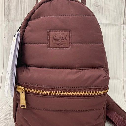 Herschel Supply Company Quilted Nova Mini Plum Backpack