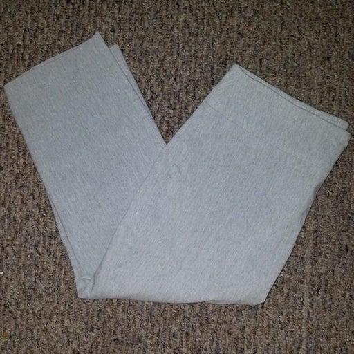 Cato Gray Stretch Capri Cropped Pants 14