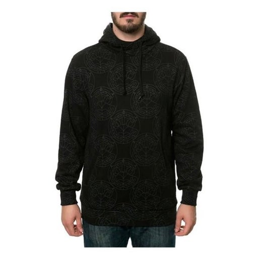 Crooks Castles All Over Hoodie SMALL