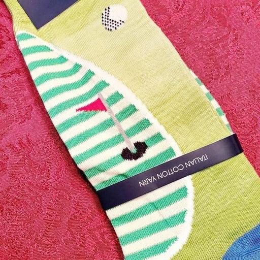 Cremieux Golf Tee Golfer Socks Italian