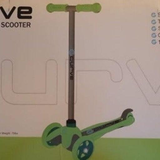 New curve tilt 3 wheel scooter