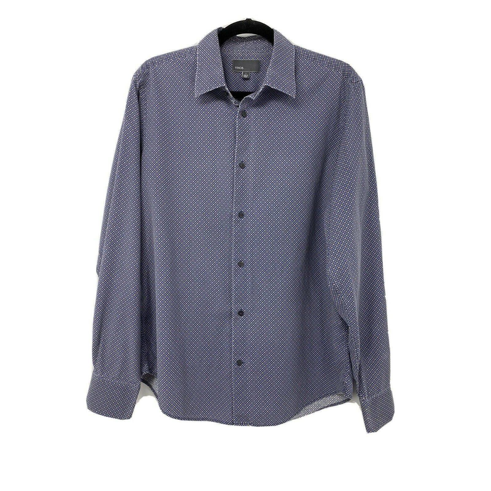 Vince Men's Large Button Oxford Shirt