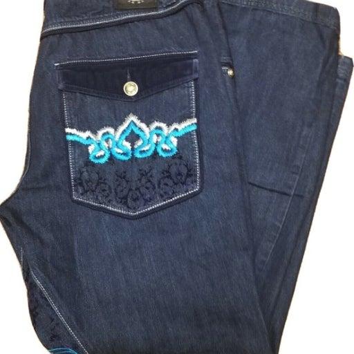 CROWN HOLDER Mens Jeans Sz 40 x 30  Blue
