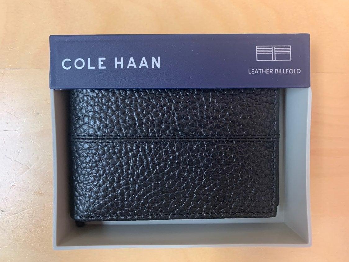 NIB Cole Haan Men's Slim Leather Wallet