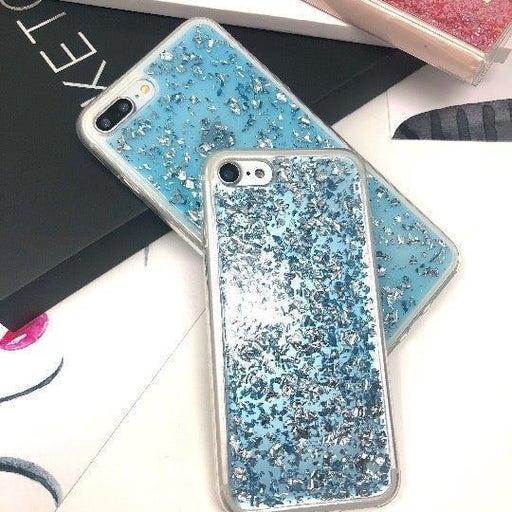 NEW Blue Glitter Bling Case iPhone 7P/8P
