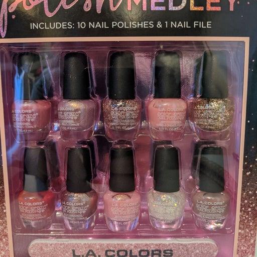 Nail Polish Bundle L A colors  new