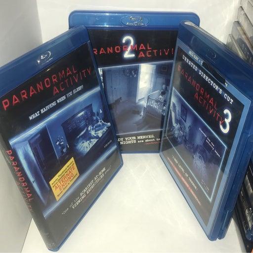 Paranormal activity 1 , 2 , & 3 bluray