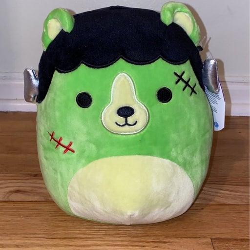"8"" Len the Frankenstein Bear Squishmallow"