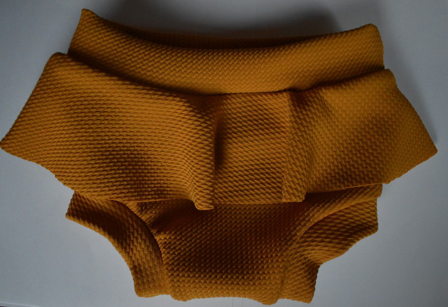 Mustard skirted bloomers blooms fall bot