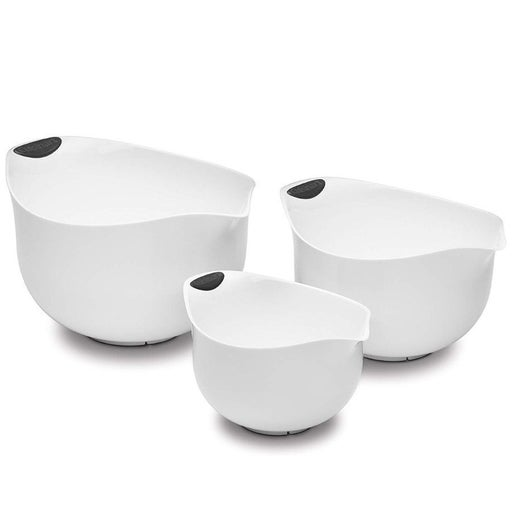 NEW Cuisinart 3 Mixing Bowls, White