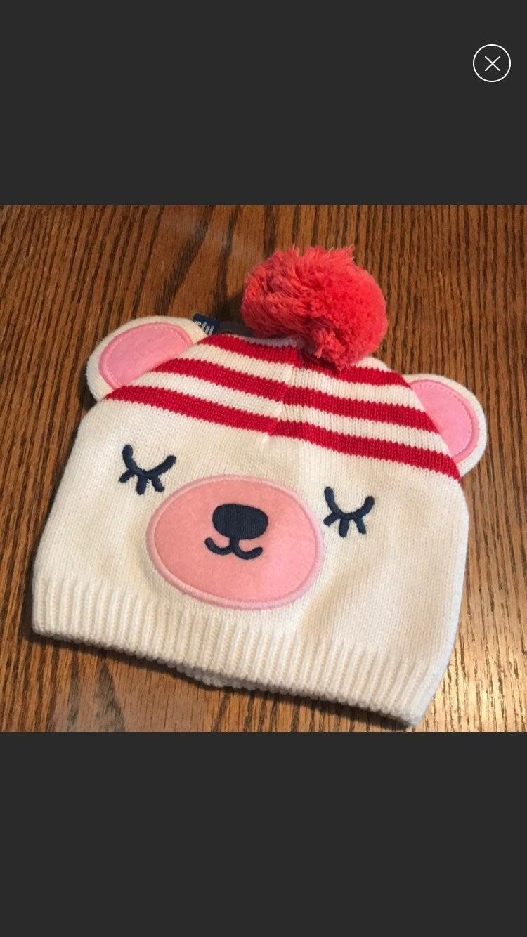 NWT Old Navy Bear Hat