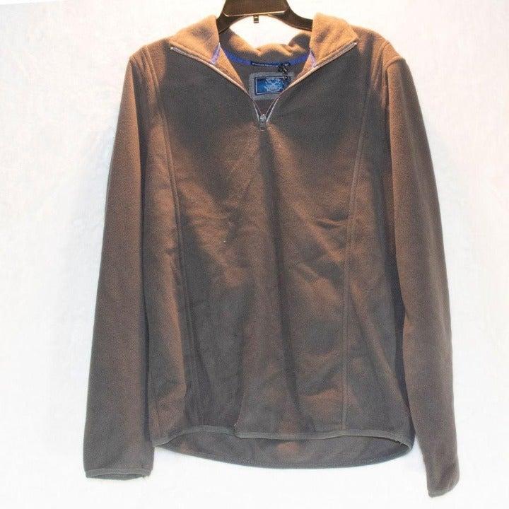 Vintage 1946 Partial Zip Fleece  Sweater