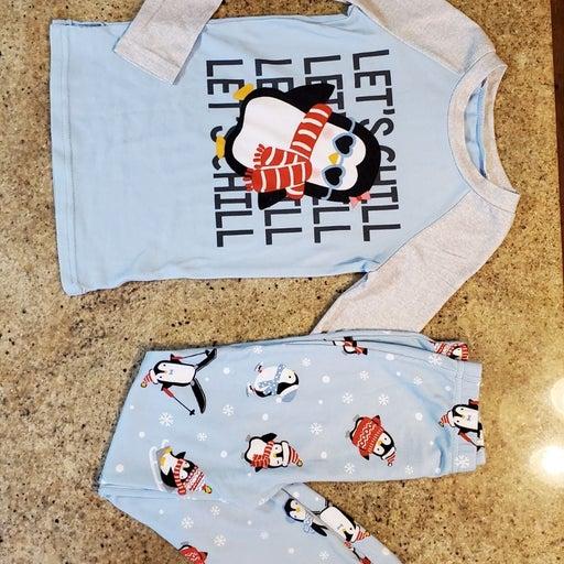 Cuddl Duds Penguin Jammies Girls 8