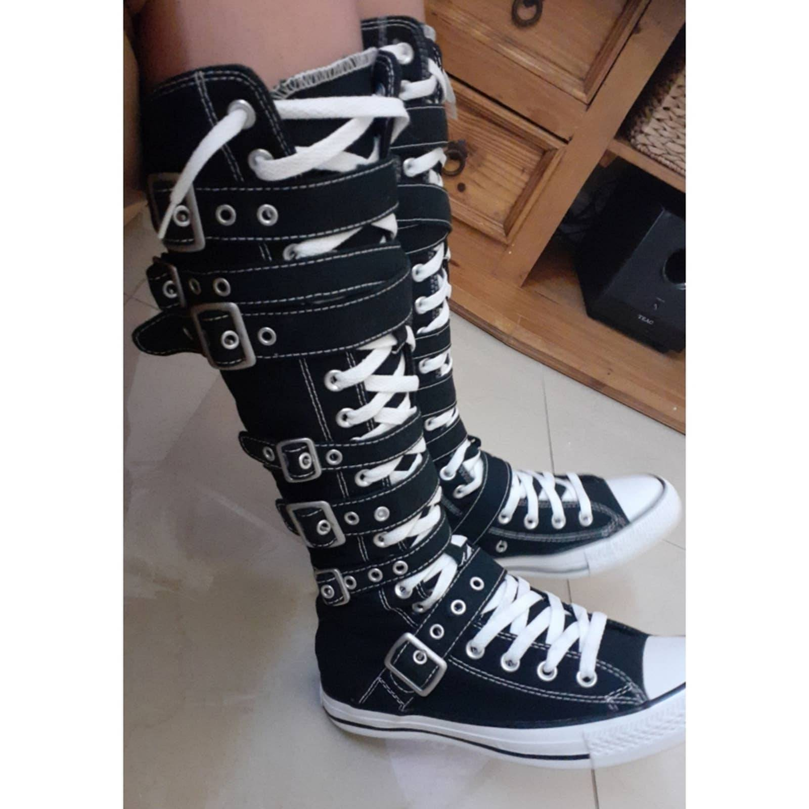 Converse Buckle Strap Shoes | Mercari