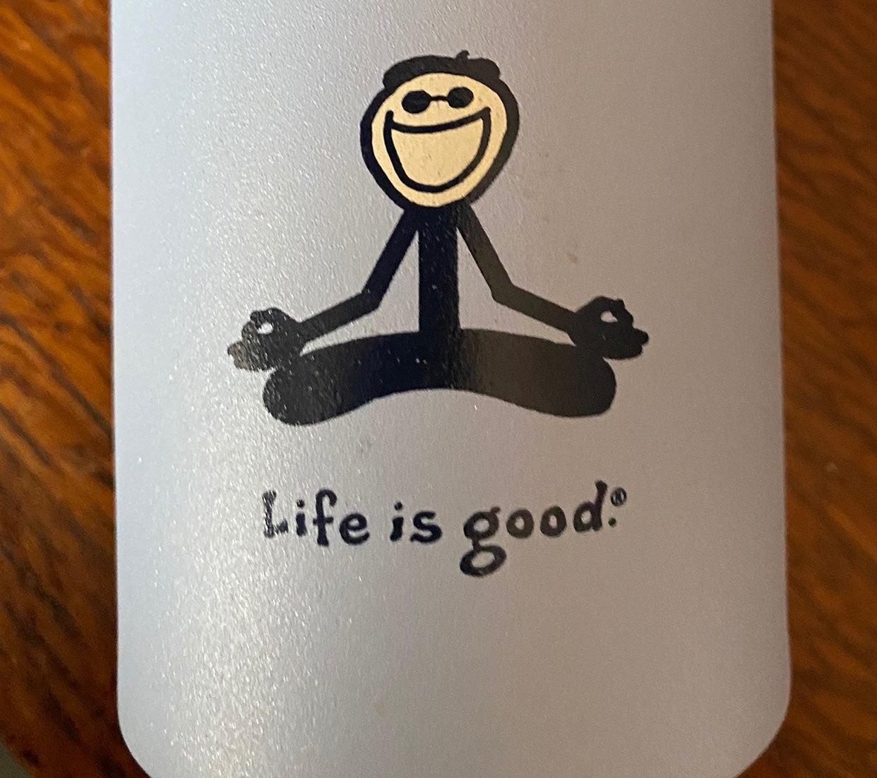 Sigg laken life is good yoga Water Bottl
