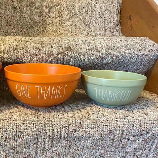 Rae Dunn thanksgiving bowls