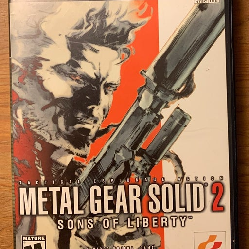 Metal Gear Solid 2: Sons of Liberty PS2 Tested no manual