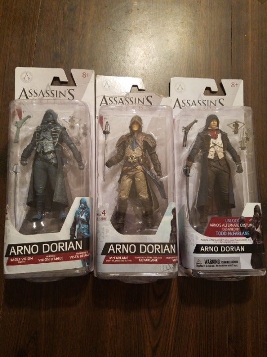 Assassin's Creed Arno Dorian - Choose 1