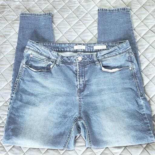 Kensie Mid Rise Ankle Jeans sz 12