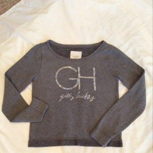 Gilly hicks Grey Sweatshirt. Ladies Med