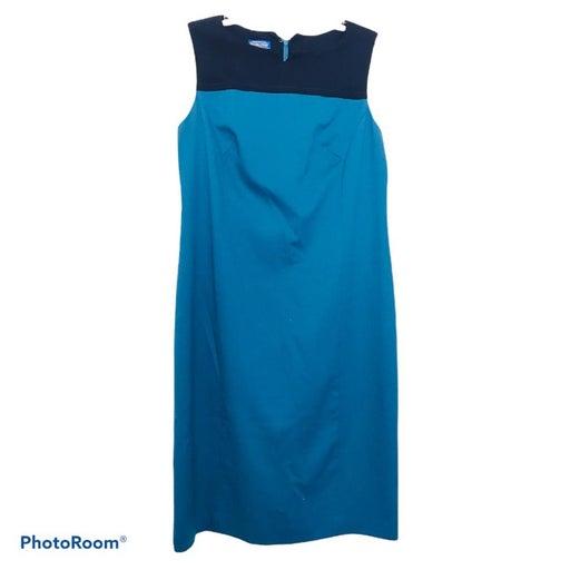 Pendleton Wool Color Block Dress