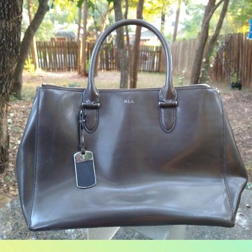 Ralph Lauren Grey shoulder bag