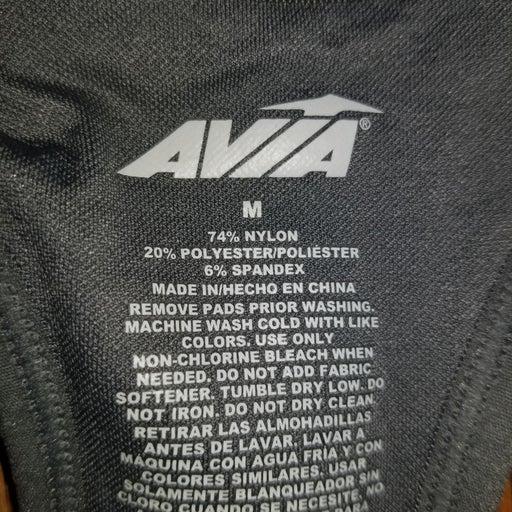 Avia size Medium sports bra-zipper in fr
