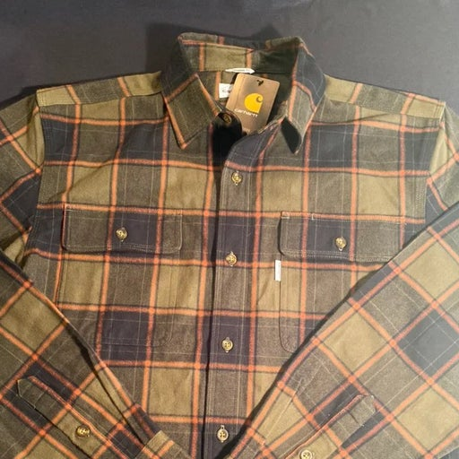 Carhartt flannel shirts for men