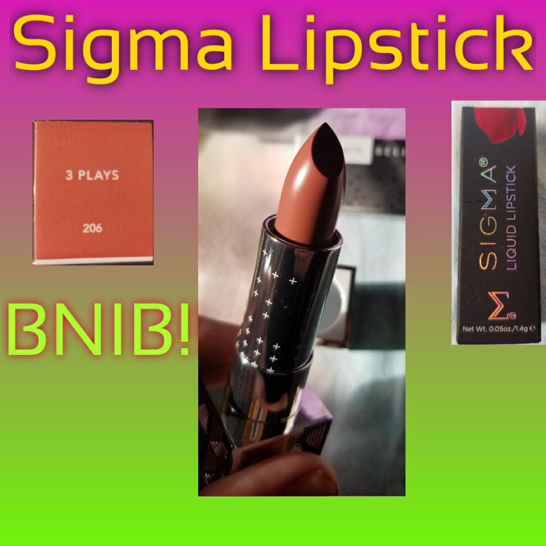 Sigma Lipstick - 3 Plays