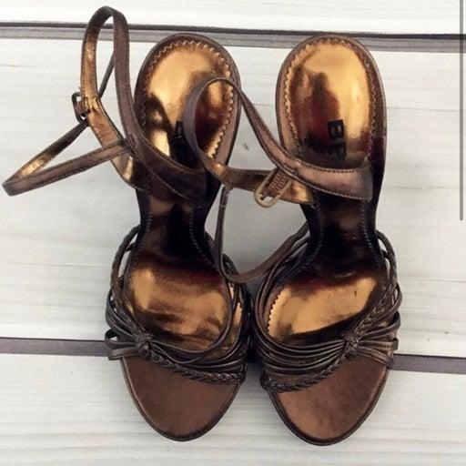 BP Copper Light High Heels Size 4.5