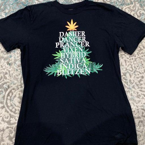 Marajuana Christmas Tshirt