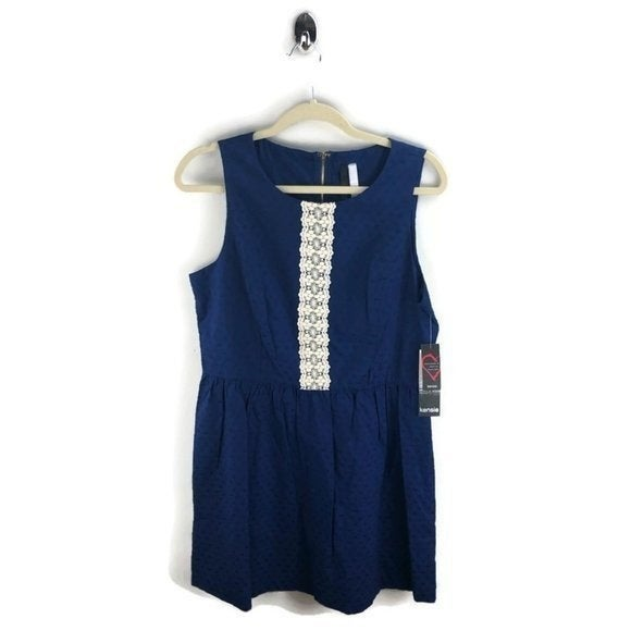 Kensie Fit and Flare Dress Size L