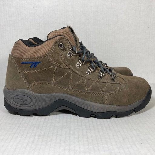 Hi-Tec Caldera Suede Active Rugged Outdoor Trail Hiking Shoes Mens Sz 10.5 7460