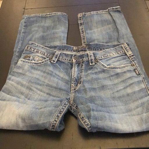 Silver Nash Men's Jeans 34x32
